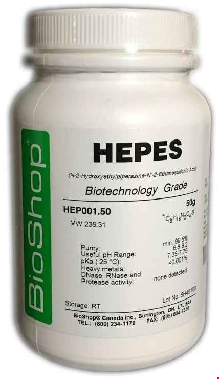 هپس | HEPES, Biotechnology Grade